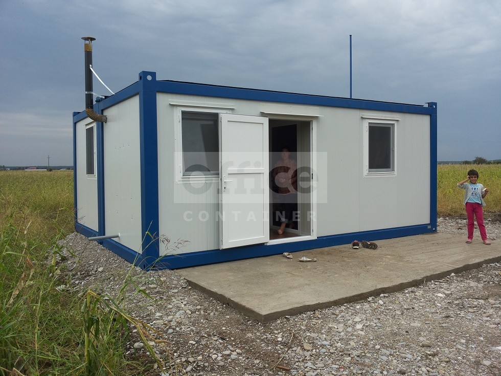 Containere tip casa de locuit Fundatia Sera Romania
